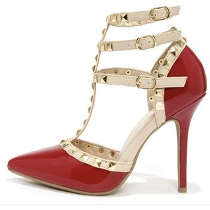 Red Pumps Charlotte Russe